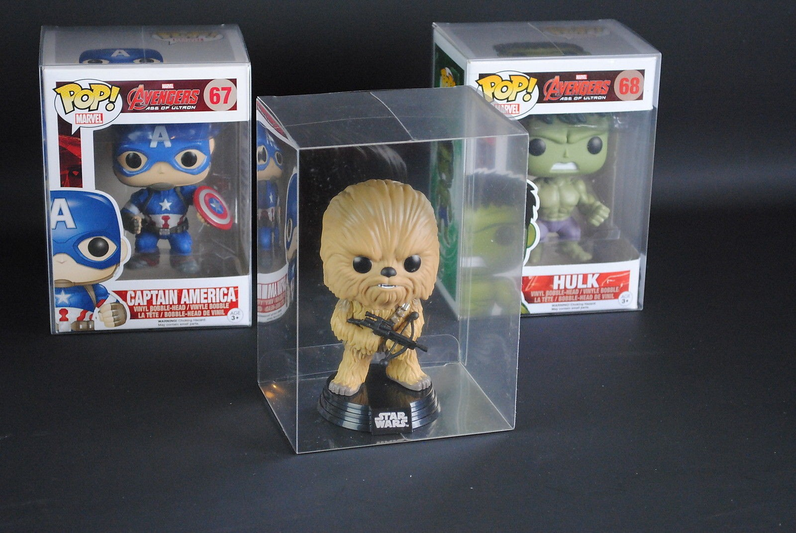 Funko Pop Vinyl Display Box Cases Protectors