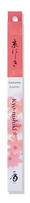 Shoyeido - Kyo-Nishiki / Kyoto Autumn Leaves - 35 Incense Sticks