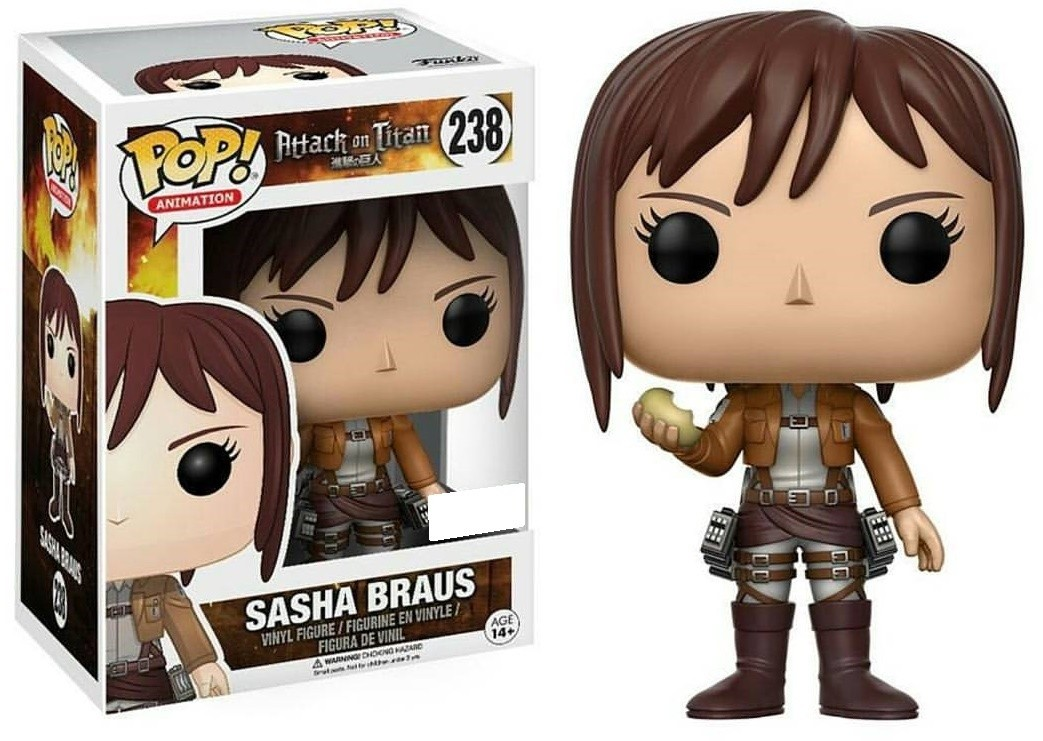 POP! Vinyl: Attack on Titan: Sasha w/ Potato