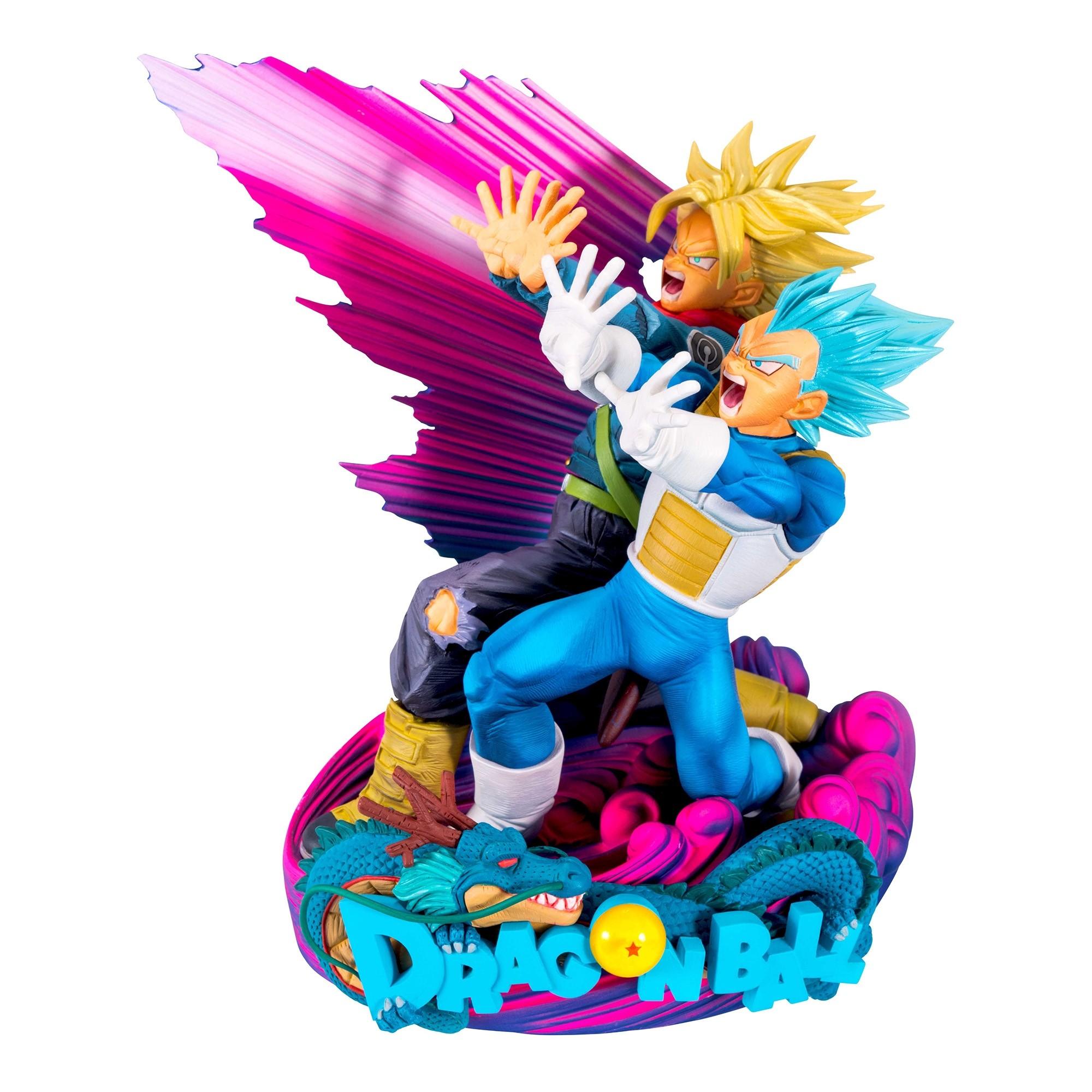 Dragon Ball Super Figure Super Master Stars Piece Diorama Vegeta & Trunks The Brush II