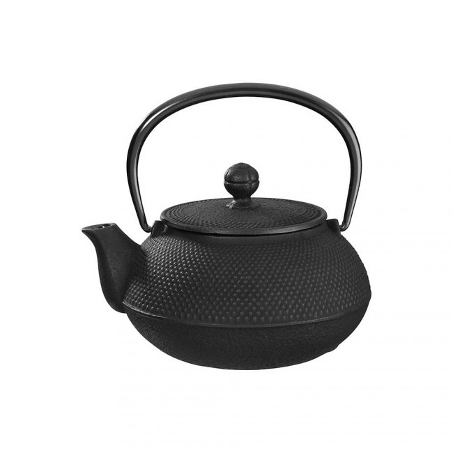 Arare Black Cast Iron Teapot 0.3L