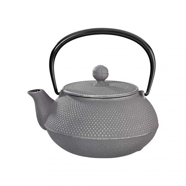 Arare Silver Grey Cast Iron Teapot 0.55L