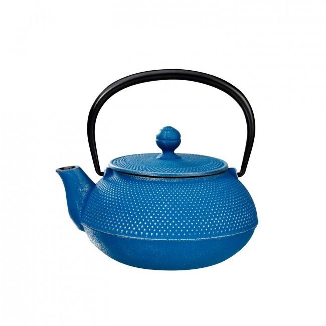 Arare Silver Ocean Cast Iron Teapot 0.55L