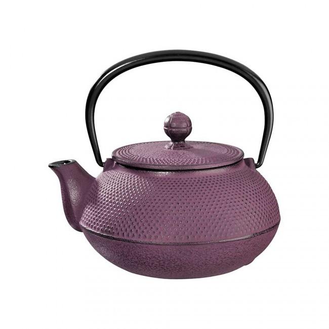 Arare Plum Cast Iron Teapot 0.55L