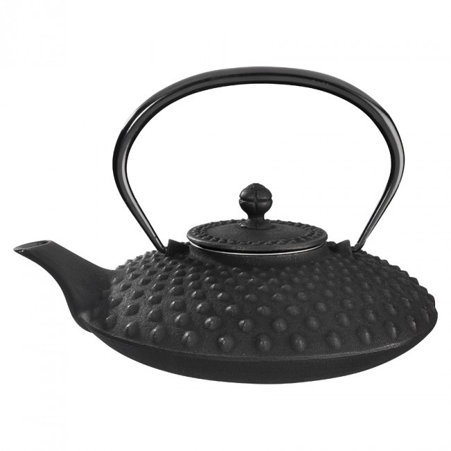 Kambin Black Cast Iron Teapot 0.75L