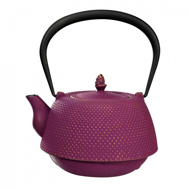 Nanbu Gold Plum Cast Iron Teapot 0.95L