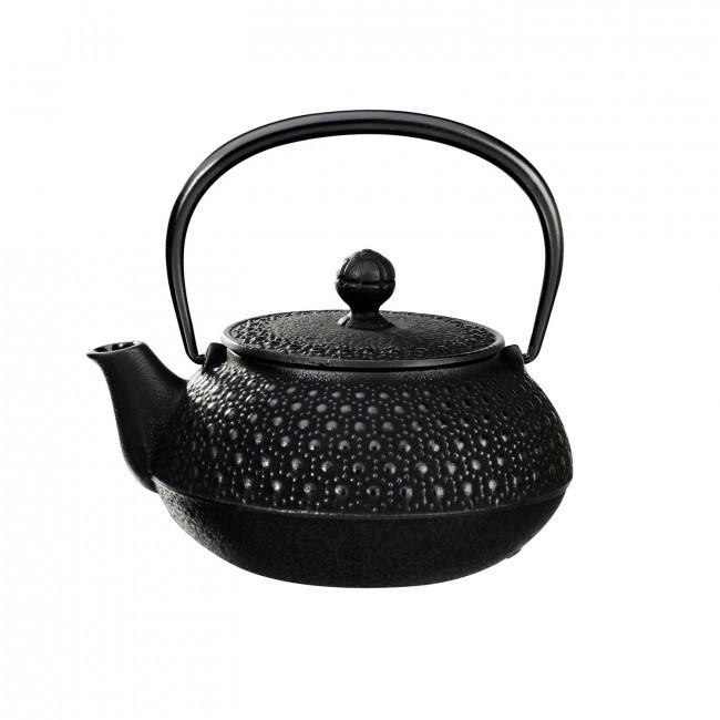 Kikko Black Cast Iron Teapot 0.55L