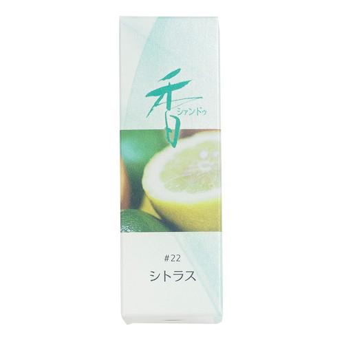 Shoyeido - Xiang Do - Citrus - 20 Incense Sticks
