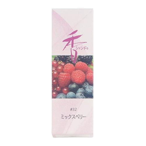 Shoyeido - Xiang Do - Mixed Berry - 20 Incense Sticks