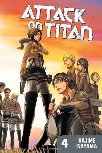 Attack on Titan, Vol. 04 by Hajime Isayama