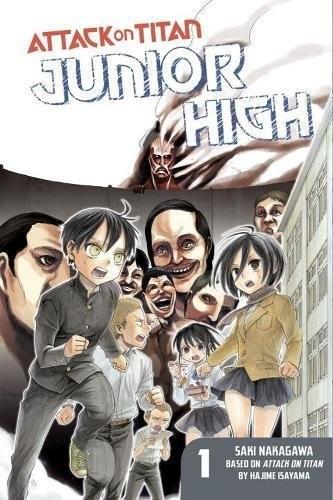 Attack On Titan, Junior High 1 by Hajime Isayama & Saki Nakagawa