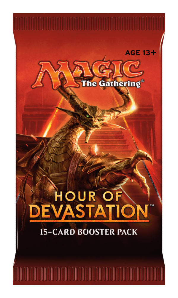 MAGIC TCG The Gathering Hour of Devastation Booster Pack