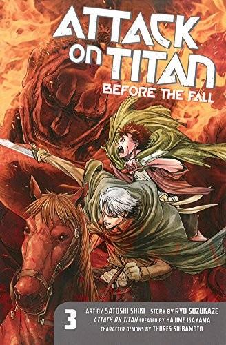 Attack on Titan: Before the Fall 03 by Ryo Suzukaze, Satoshi Shiki