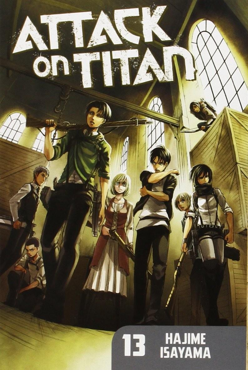 Attack on Titan, Vol. 13 by Hajime Isayama