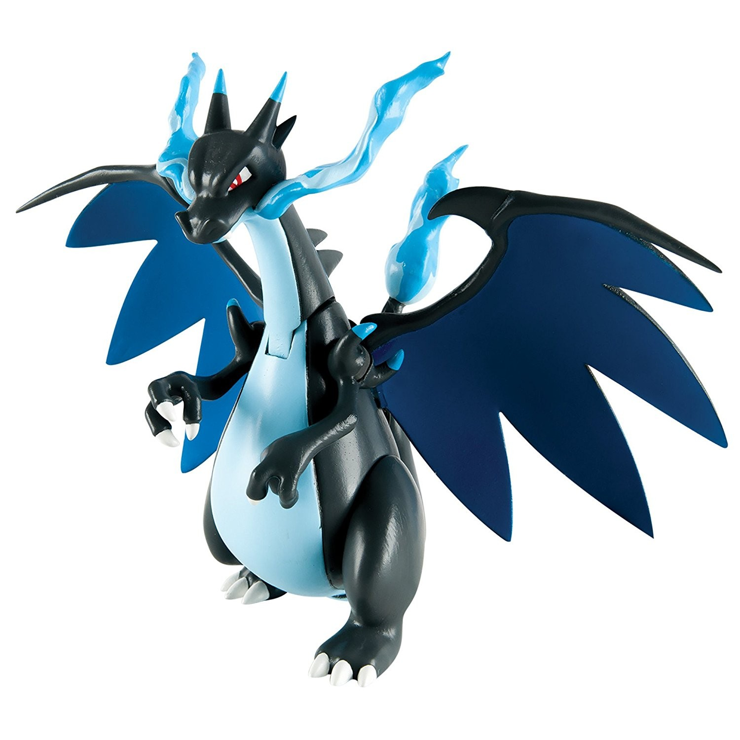 Pokemon 6 inch battle action figure mega charizard x - Mega evolution dracaufeu x ...