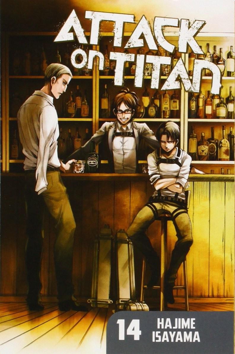 Attack on Titan, Vol. 14 by Hajime Isayama