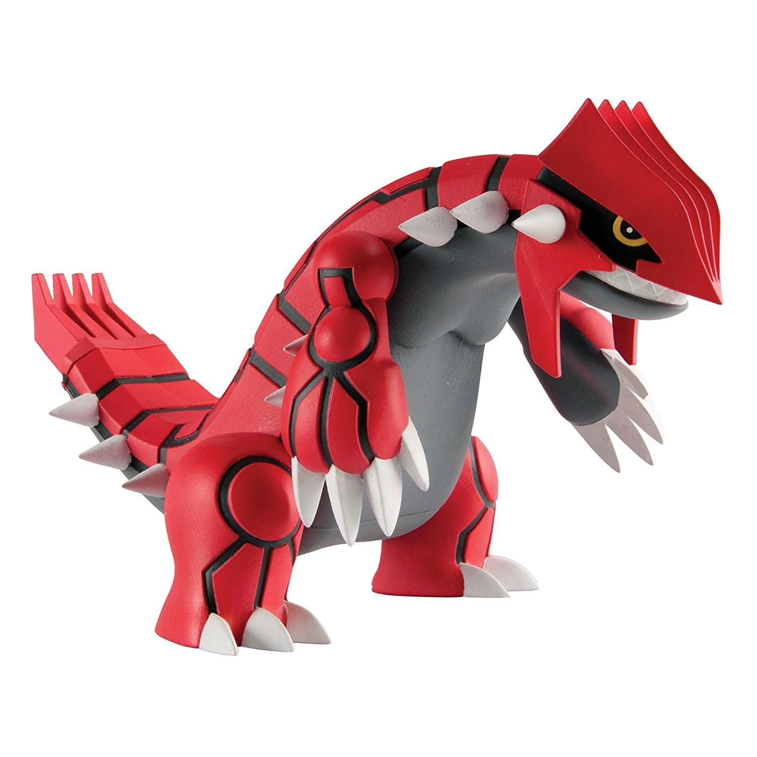 Pokemon Large 10 Inch Battle Action Figure - Groudon