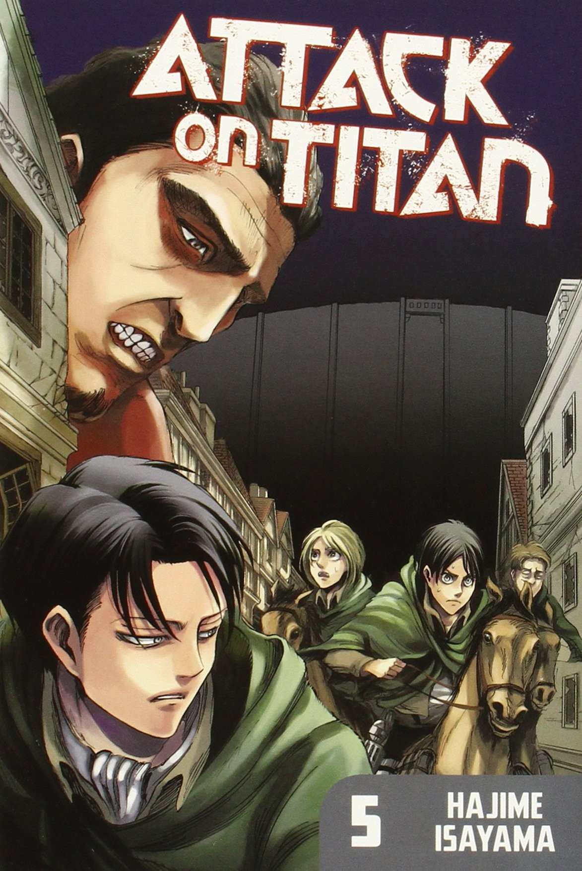 Attack on Titan, Vol. 05 by Hajime Isayama