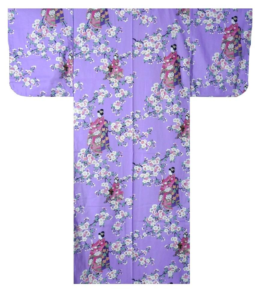 Ladies Yukata - Maiko - Purple