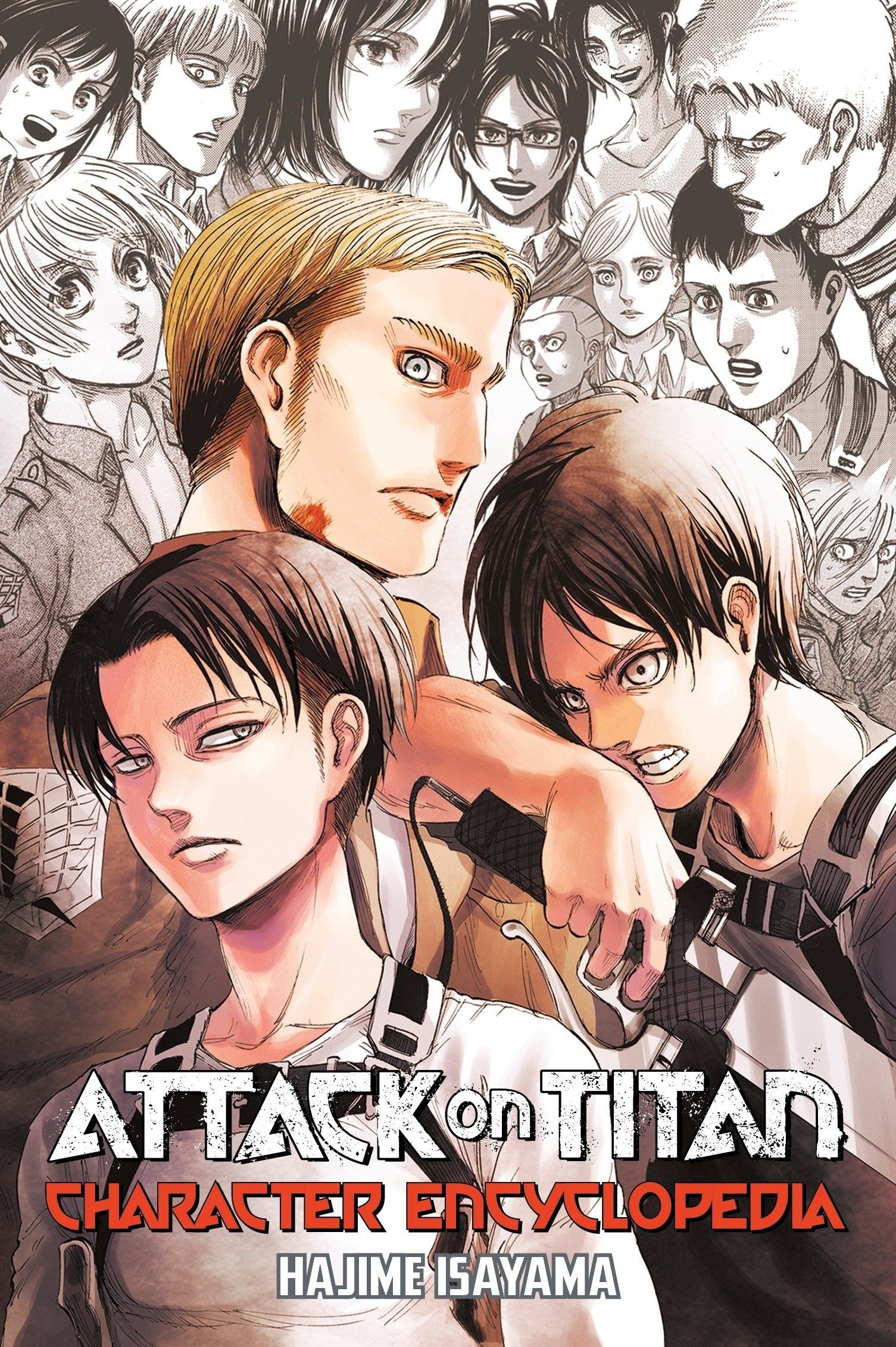 Attack On Titan, Character Encyclopedia