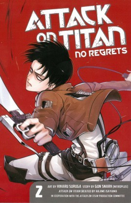 Attack On Titan, No Regrets 2 by Gan Sunaaku