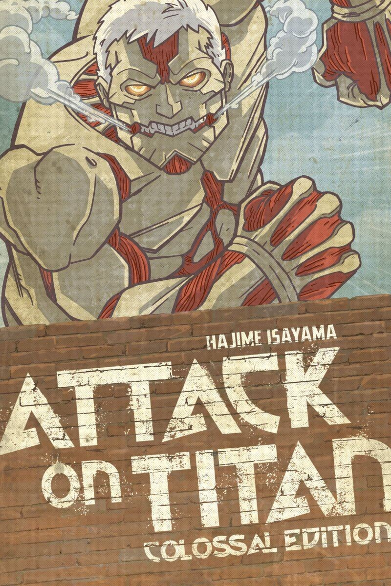 Attack on Titan: Colossal Edition, Volume 3 by Hajime Isayama