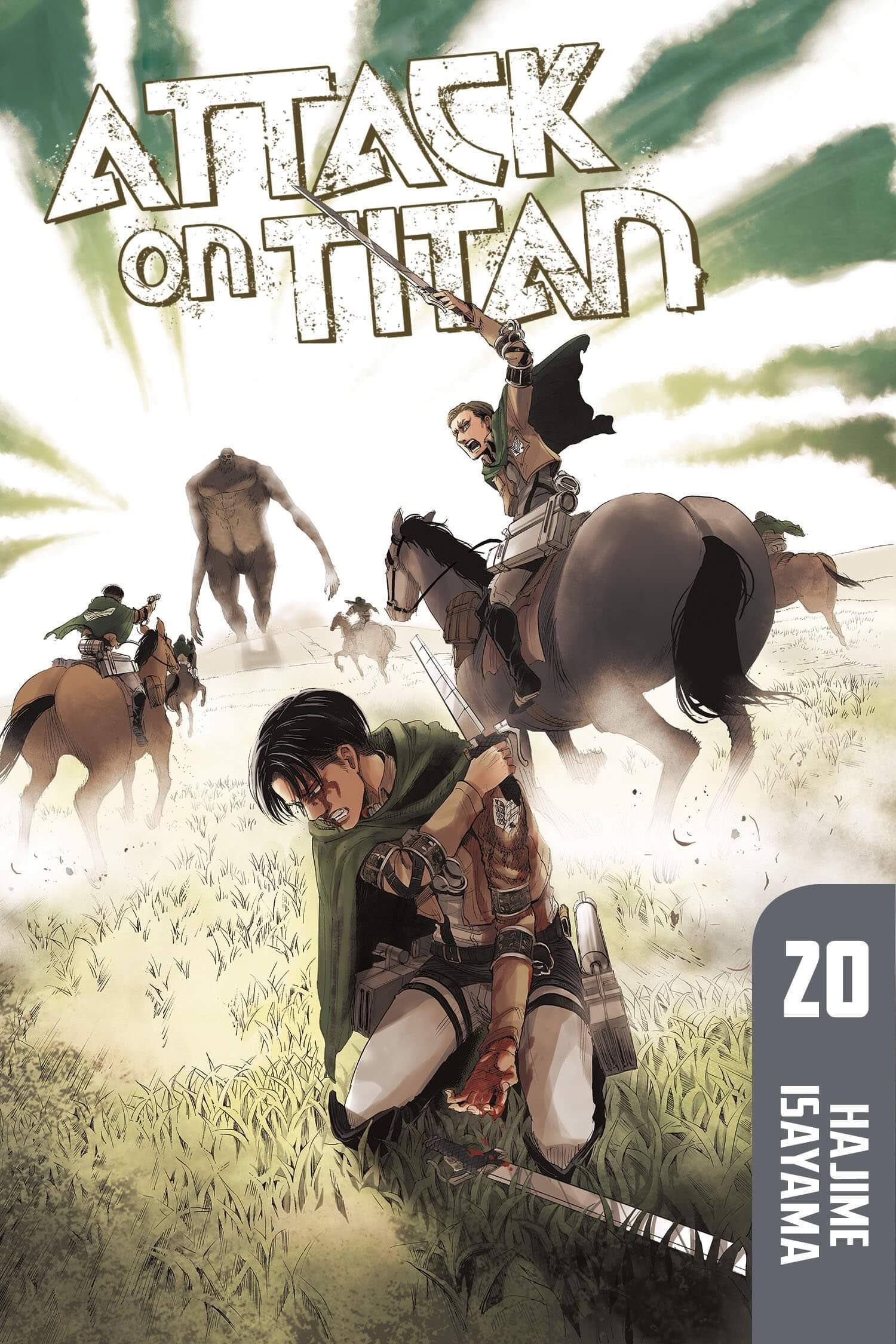 Attack on Titan, Vol. 20 by Hajime Isayama