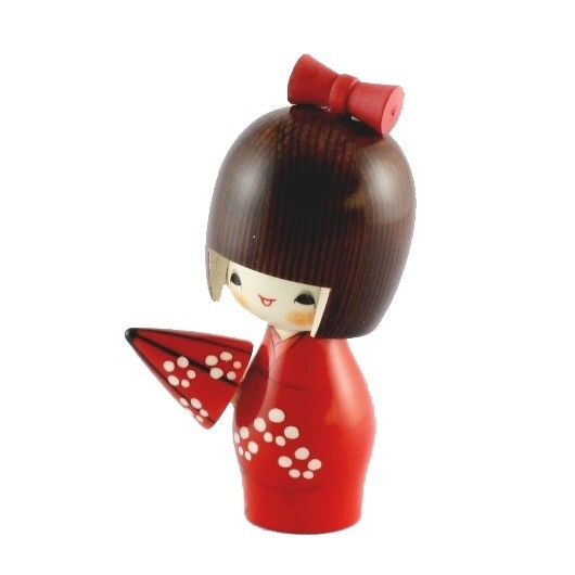 Kokeshi Doll - Umbrella