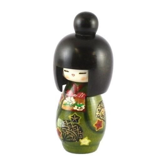 Kokeshi Doll - Kikuougi