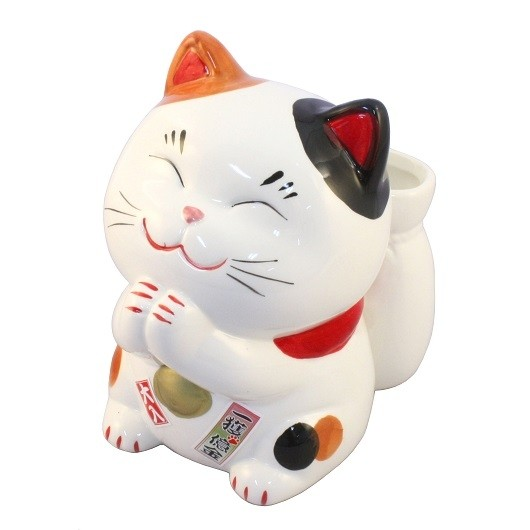 Maneki Neko - Lucky Cat With the Lottery Case (L)