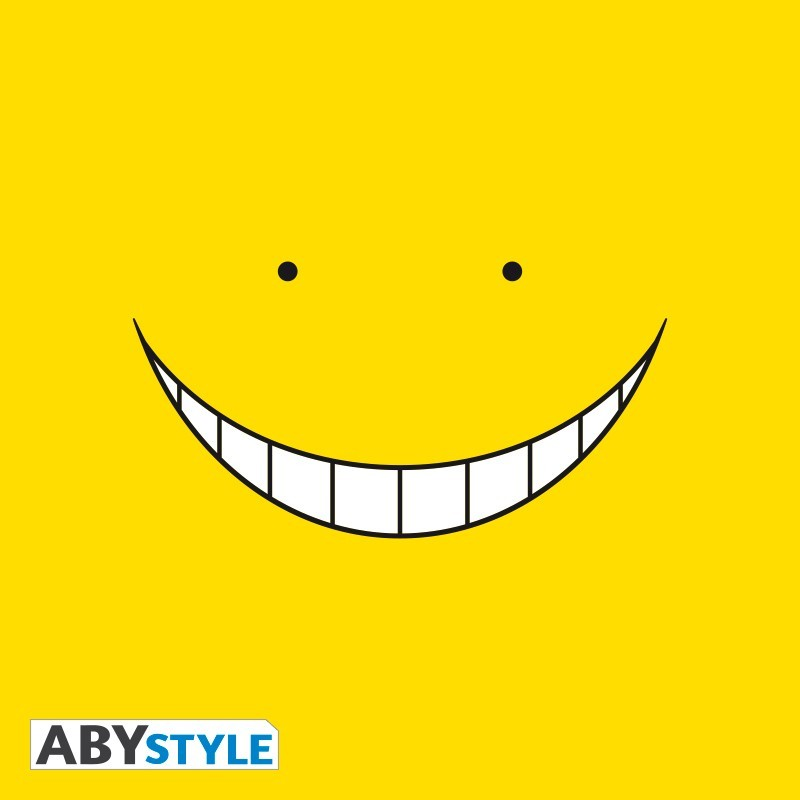 "T-SHIRT ASSASSINATION CLASSROOM ""Koro Smile"" Large"