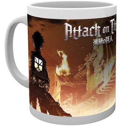 Attack on Titan - Mug 300 ml / 10 oz - Key Art