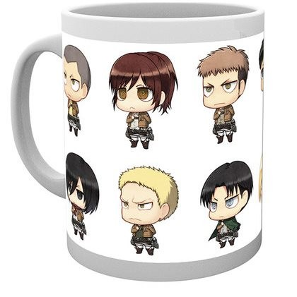 Attack on Titan - Mug 300 ml / 10 oz - All Chimis