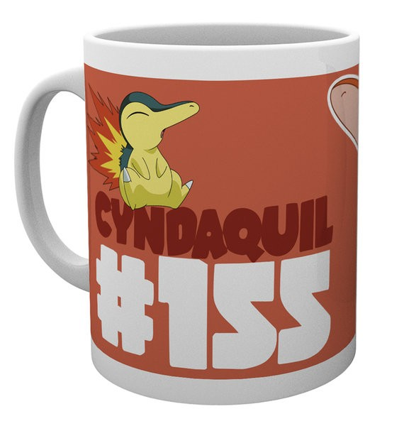 Pokemon - Mug 300 ml / 10 oz - Cyndaquil