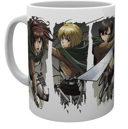 Attack on Titan - Mug 300 ml / 10 oz - Character Montage