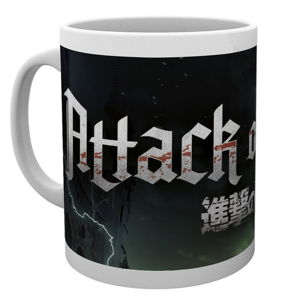 Attack on Titan - Mug 300 ml / 10 oz - Season 2 Logo