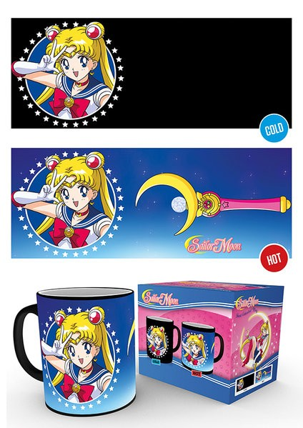 Sailor Moon - Mug 300 ml / 10 oz - Heat Mugs Sailor Moon