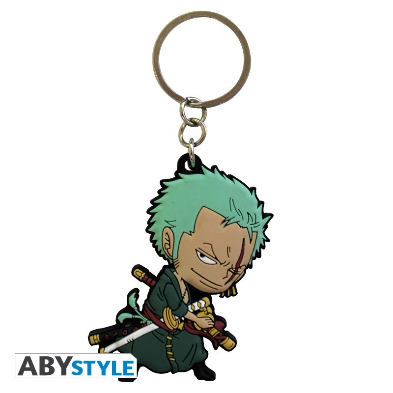 "ONE PIECE - Keychain PVC ""Zoro SD"""