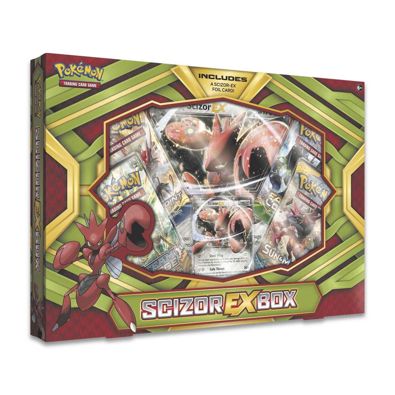 Pokémon TCG: Scizor-EX Box