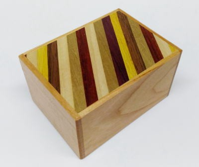 3 SUN 12 STEPS CHERRY WOOD / STRIPES (limited edition)