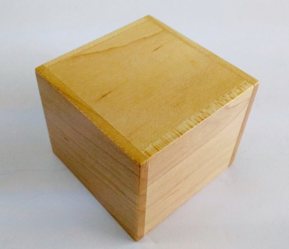 2 SUN CUBE 4 STEPS KOBAKO MAPPLE WOOD