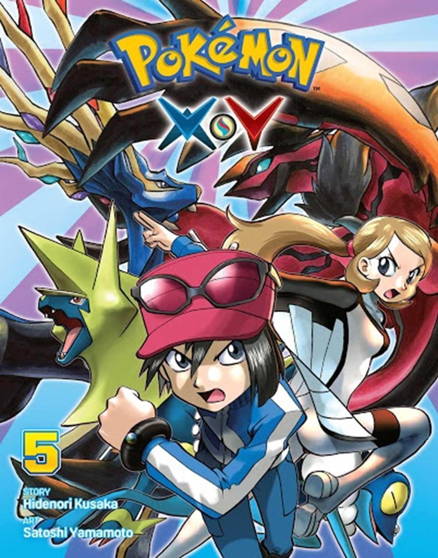 Pokémon X•Y Vol. 5 by Hidenori Kusaka
