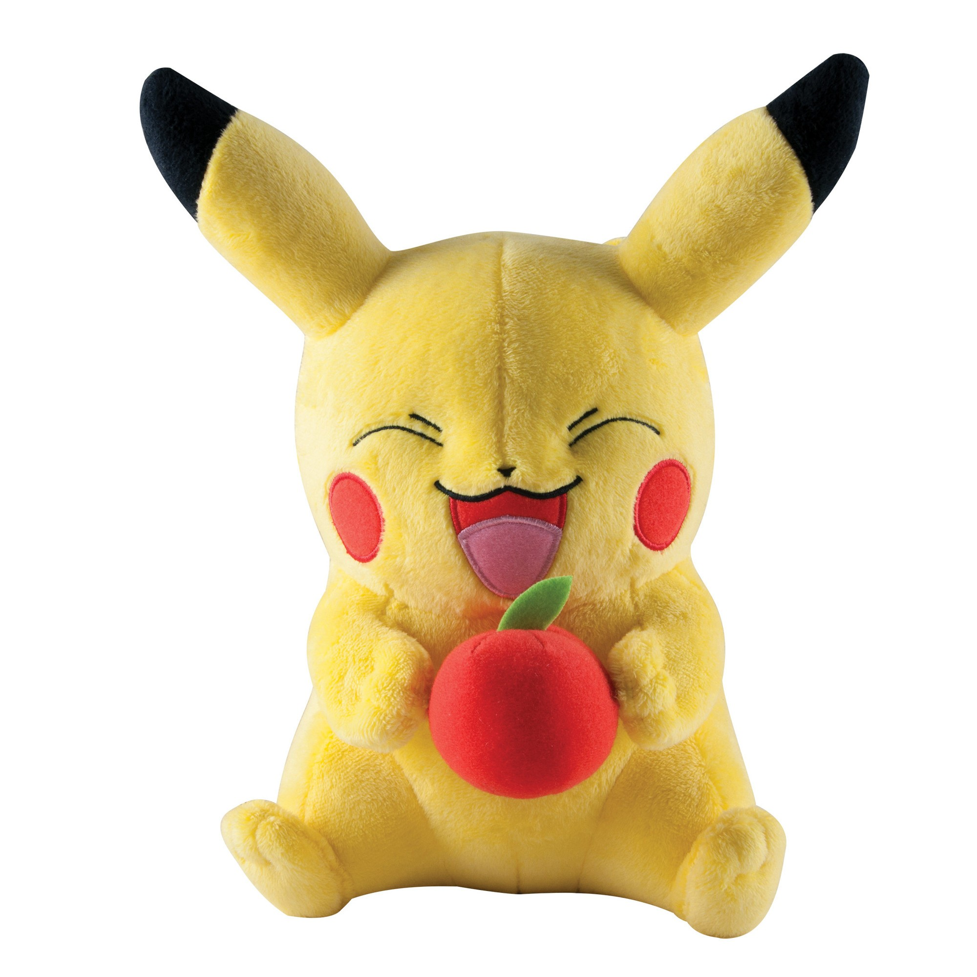 Pokemon Pikachu with Apple Plush (26cm)