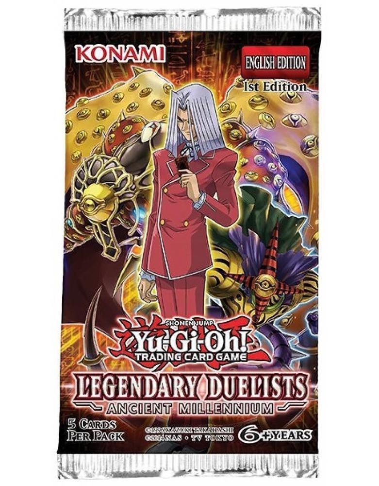 Yu-Gi-Oh! TCG Legendary Duelist - Ancient Millennium 1st Edition Booster Pack