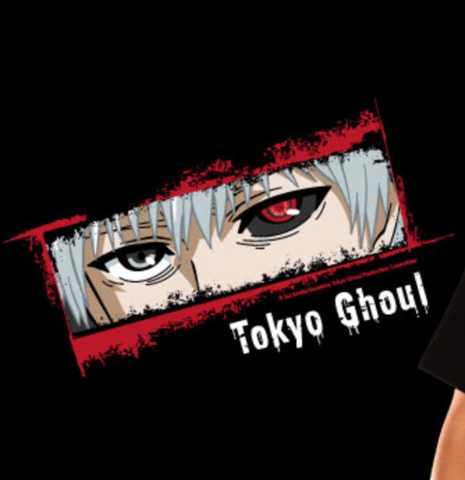 """T-SHIRT TOKYO GHOUL """"KANEKI EYES"""" Large"""