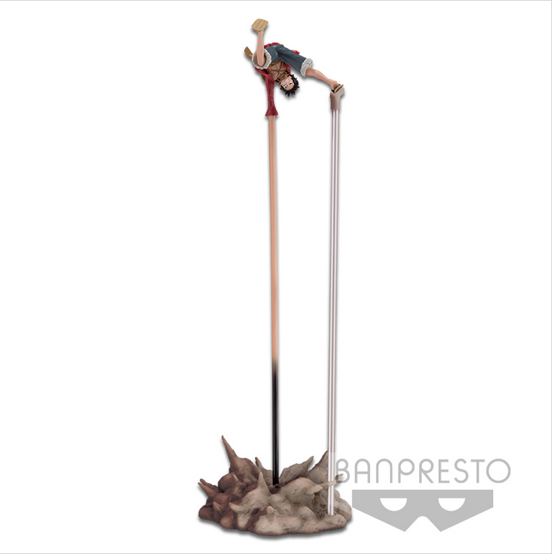 "One Piece Figure Luffy's Deathblow ""GUM GUM PISTLE"" 35cm"