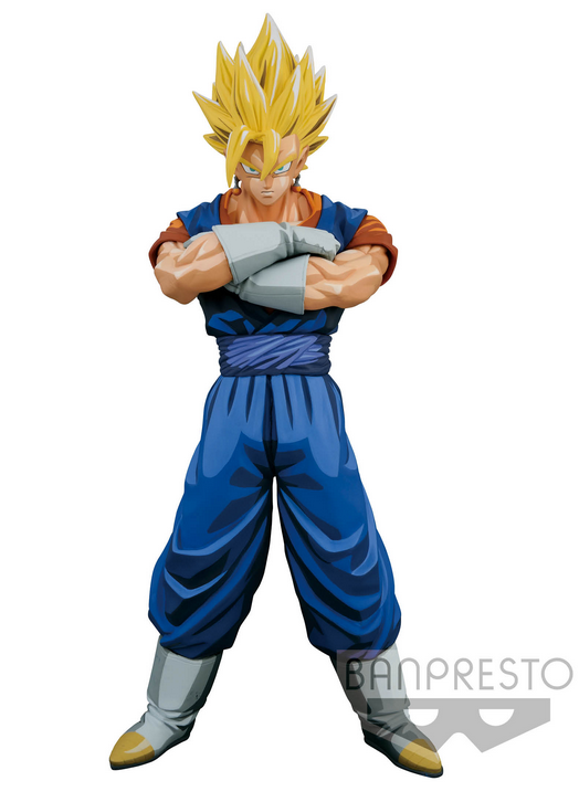 Dragon Ball Z Super Master Stars Piece Figure - The Vegito - Manga Dimensions 25 cm