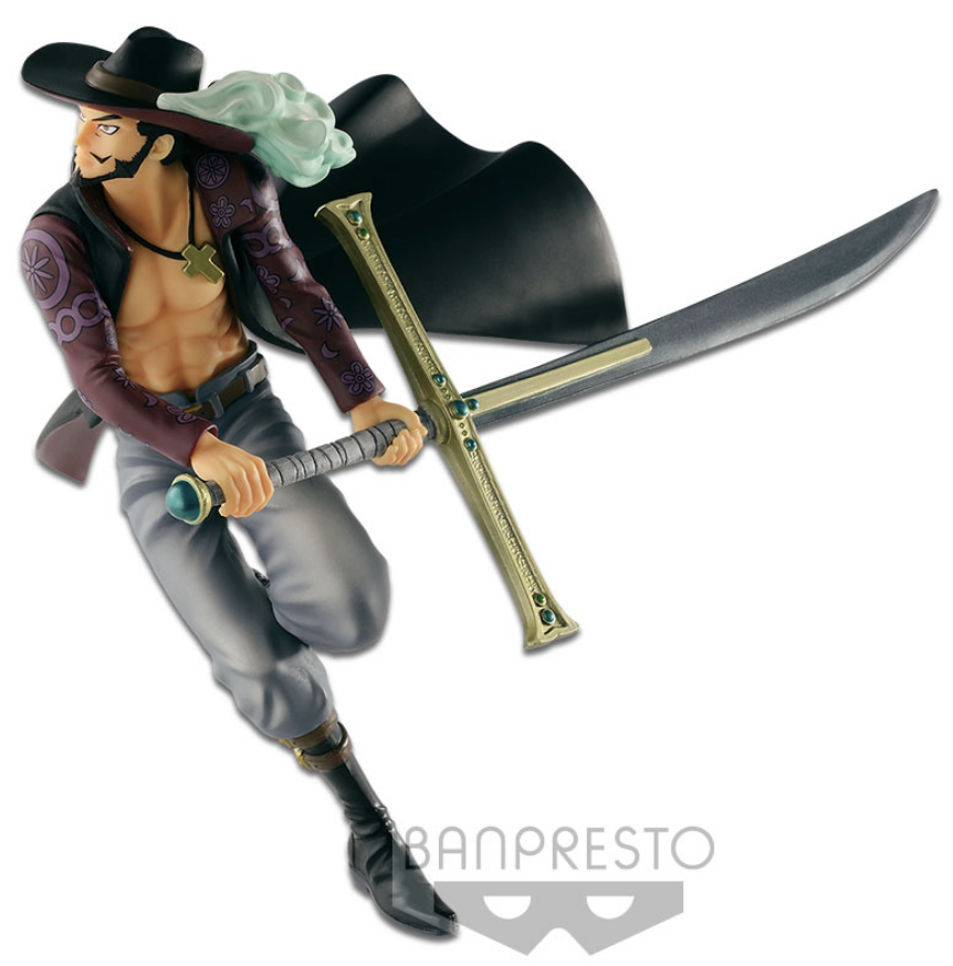 "One Piece World Figure Colloseum Vol. 3 - Dracule ""Hawk Eyes"" Mihawk 17 cm"