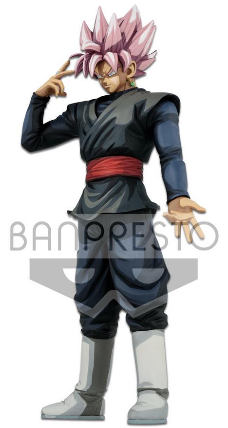 Dragon Ball Super Figure Grandista Goku Black Super Saiyan Rose Manga Dimension