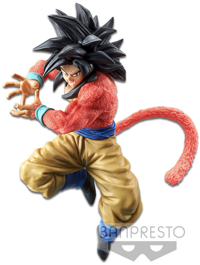 Dragon Ball GT Figure Super Saiyan 4 Goku x10 Kamehameha